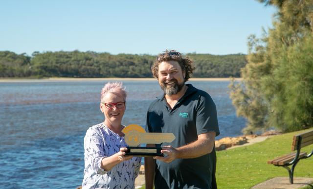 Holiday Haven Lake Conjola awarded People's Choice Award